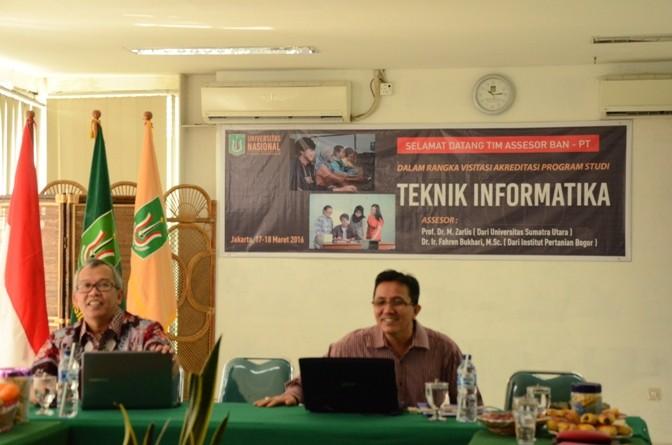 Akreditasi  Program Studi Teknik Informatika