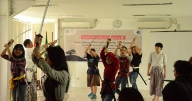 Kuliah Umum, Ajak Mahasiswa Belajar Kenbujutsu