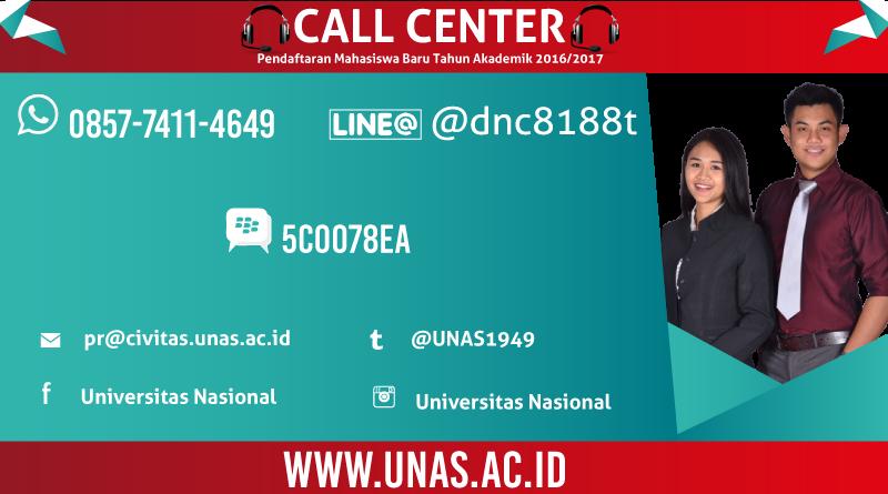 Call Center UNAS New 2016