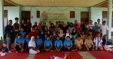 KKL Biologi UNAS di Rimbang Baling