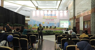 Fabio UNAS Bahas Lingkungan di Indonesia Climate Change