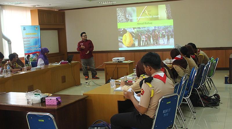 Fakultas Biologi dan Saka Kalpataru Kenali Keragaman Hayati Ibu Kota