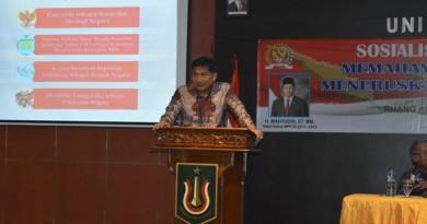 Sosialisasi Empat Pilar MPR RI Bahas Aktualisasi Pancasila