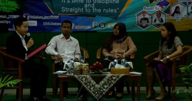 Talkshow narasumber UNAS