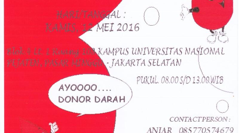 DONOR DARAH (UNAS)