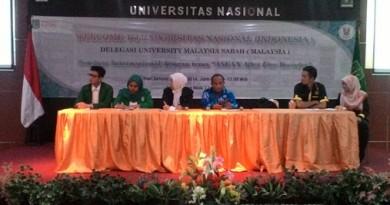 UNAS-UMS GELAR DISKUSI INTERNASIONAL BAHAS PERAN ASEAN