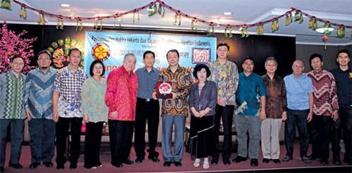 UNAS Hadiri Pertemuan Platform Bilingual Tionghoa Indonesia
