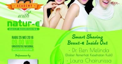Pengembangan Diri Menuju Dunia Kerja & Smart Sharing Beaut-E Inside Out