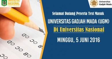 UjianUGM-diUNAS-2016