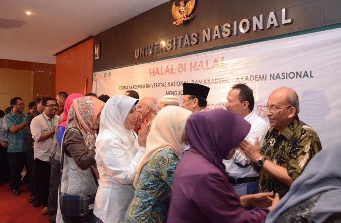 Halal Bi Halal Civitas Akademika UNAS