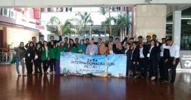 UNAS Sambut Kedatangan Delegasi University of Malaya