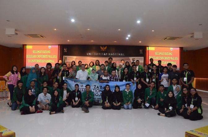 Pembukaan International Project UM - UNAS