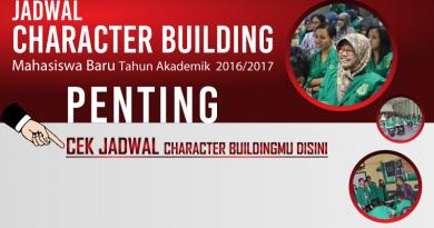 Cek Jadwal Character Buildingmu Disini