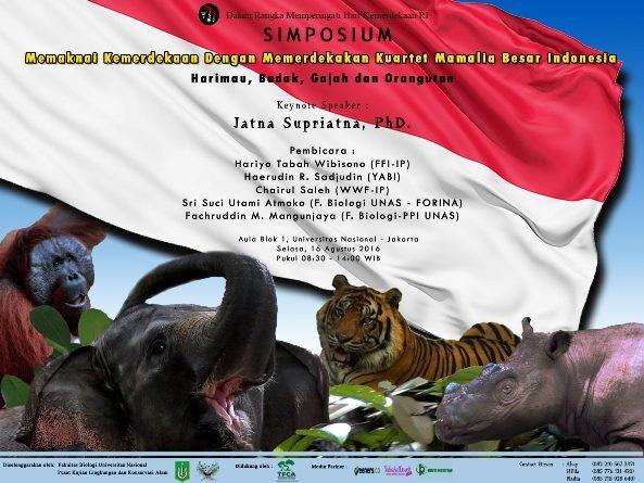 SIMPOSIUM KONSERVASI MAMALIA BESAR INDONESIA