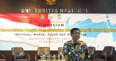Rayakan Hari Kemerdekaan Fakultas Biologi Universitas Nasional  Gelar Simposium Konservasi Mamalia Besar