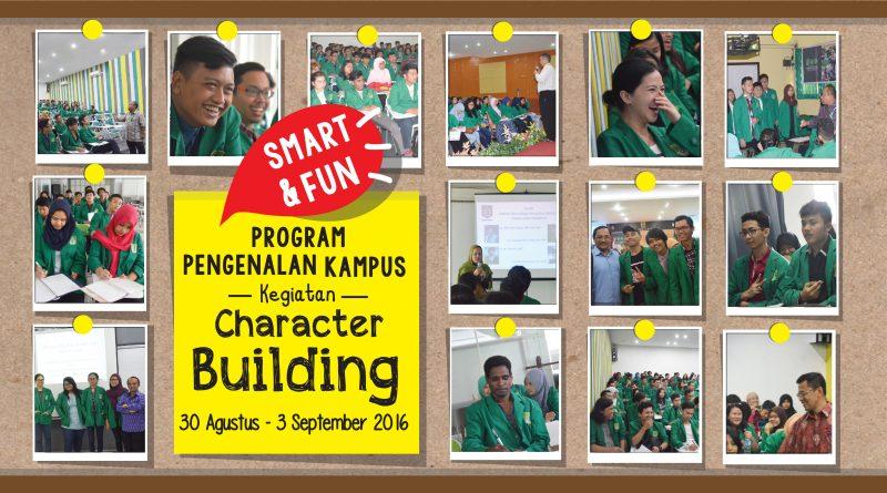 Kegiatan Character Building 30 Agustus - 3 September 2016