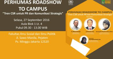 PERHUMAS ROADSHOW to UNAS (2016)