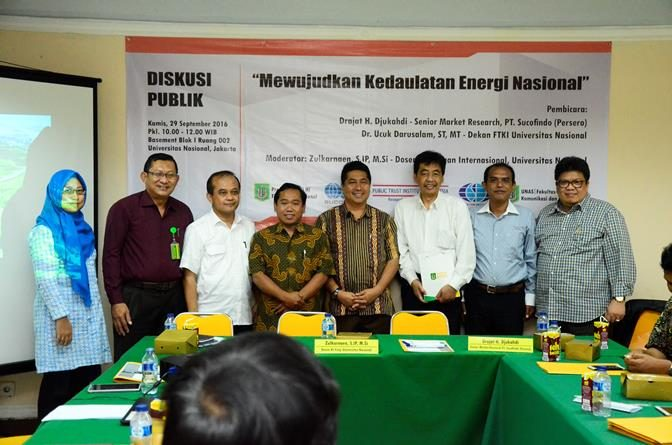 Diskusi Publik Energi