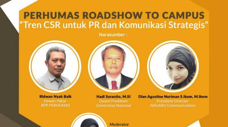 Seminar 'Tren CSR untuk PR dan Komunikasi Strategis'