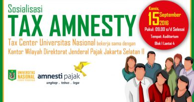 Sosialisasi Tax Amnesty 2016