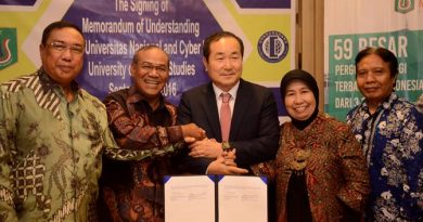 MOU Universitas Nasional dan Hankuk University Of Foreign Studies
