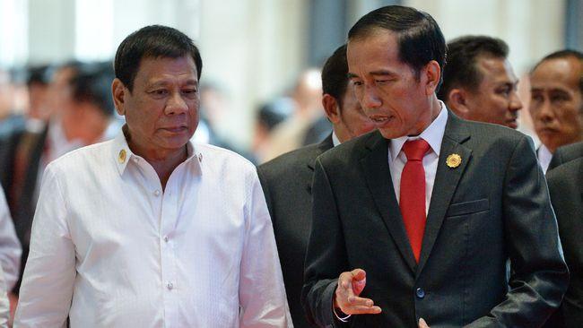 Ini Alasan Istimewa Jokowi Ajak Duterte 'Blusukan' ke Tanah Abang