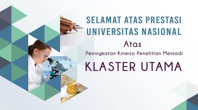 Prestasi Penelitian Universitas Nasional