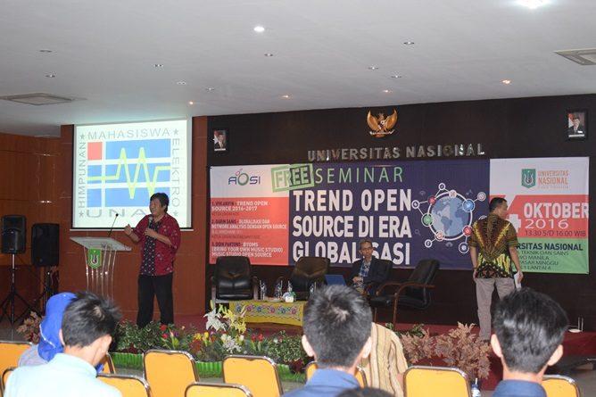 Seminar AOSI Fakultas Teknik dan Sains