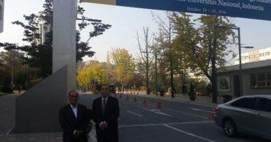 Kunjungan UNAS ke Cyber Hankuk Korea