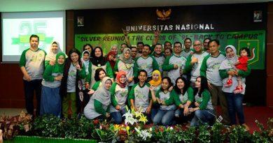 Silver Reuni FISIP 91 Universitas Nasional