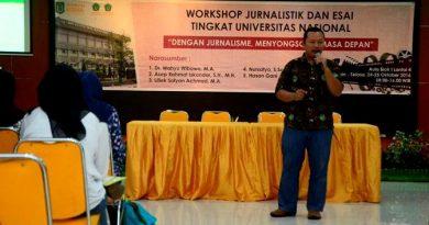 UNAS Gelar Workshop Jurnalistik dan Esai