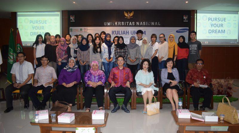 Vice President Samsung Indonesia Berikan Kuliah Umum di UNAS