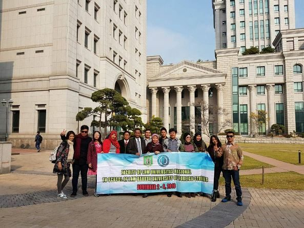 Kerja Sama Antara UNAS dan Hankuk University of Foreign Studies