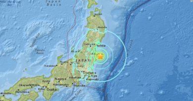 6,9 SR Gempa Hampiri Jepang