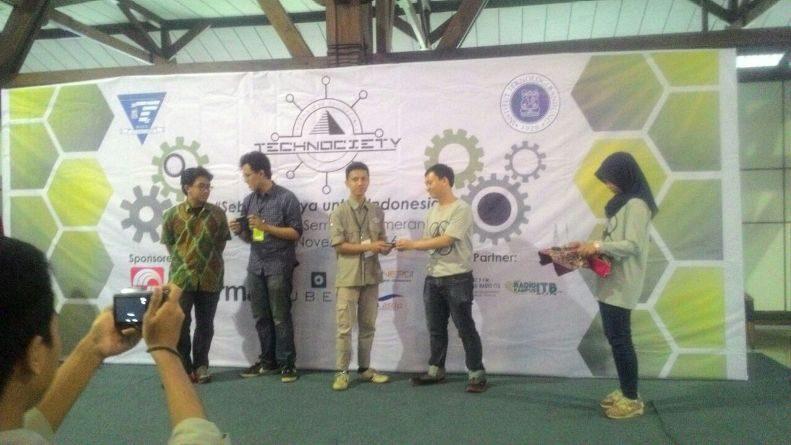 Mahasiswa Teknik Fisika UNAS Raih Award di Technociety ITB 2016