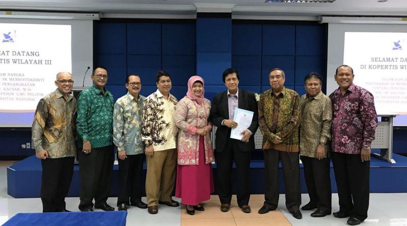 Universitas Nasional Tambah Guru Besar