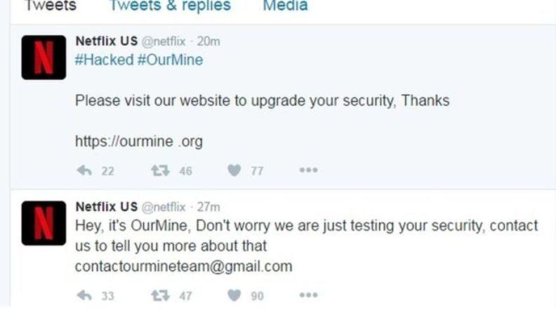 OurMine Serang Twitter Netflix