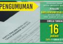 Pengumuman Pengisian KRS Semester Genap 2016