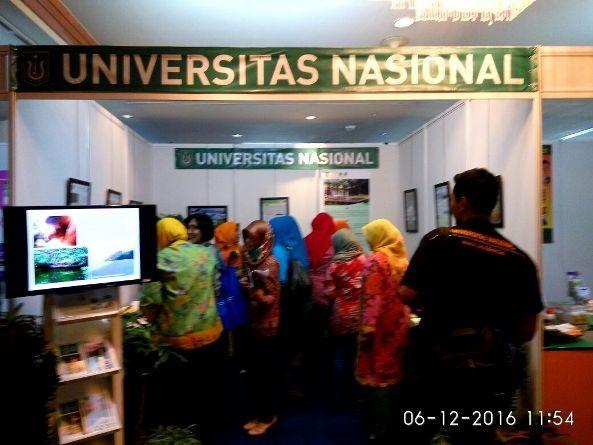 Pameran Hasil Penelitian Dan Pengembangan (UNIVERSITAS NASIONAL 2016)