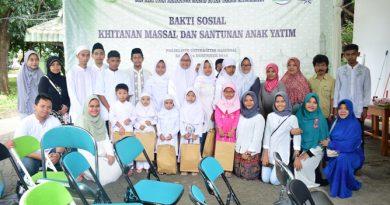 Himpunan Mahasiswa Masjid UNAS : Indahnya Berbagi