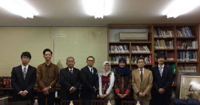 Mahasiswa Unas Kenalkan Budaya Indonesia  Di Jepang