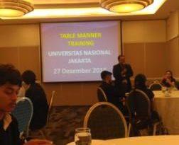 Bangun Kepercayaan Diri Melalui Pelatihan Table Manner