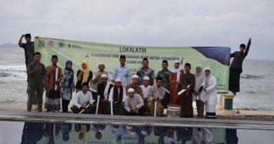 Lokalatih PPI Unas di Taman Wisata Ujung Kulon