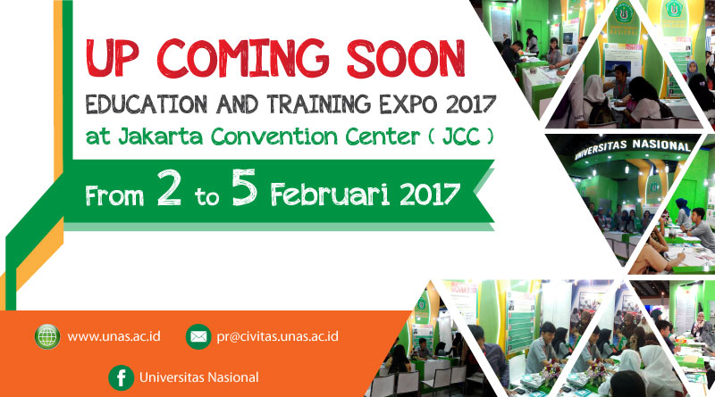 Up-coming-UNASPameran-diJCC-2017