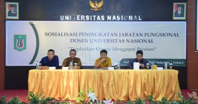 Sosialisasi Peningkatan Jabatan Fungsional Dosen Universitas Nasional