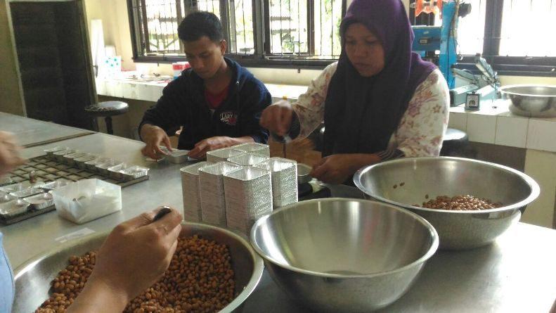 Kegiatan Pembuatan Tauco dibidang Pertanian Yang Dilakukan oleh P4TK