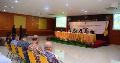 Sidang Terbuka Senat Akademik UNAS Promosi Doktor Ilmu Politik