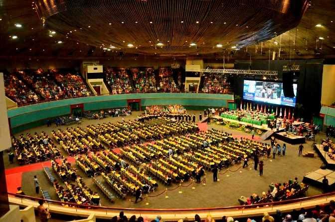 Pengukuhan Wisudawan UNAS Periode II 2016
