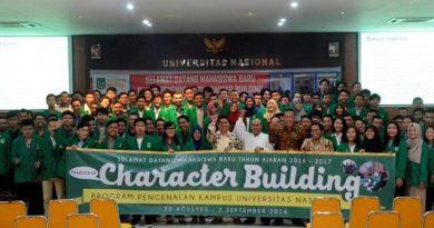 Character Building Universitas Nasional 2016