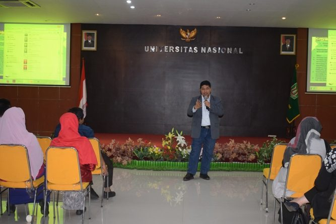 {:id}Bentuk Lulusan yang Unggul, Universitas Nasional Gelar Workshop dan Coaching Clinic Penyusunan RPS{:}{:en}Form of Excellence, National University Holds Workshop and Coaching Clinic Preparation of RPS{:}
